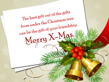 merry christmas messages for card