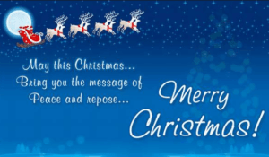 merry christmas status with images