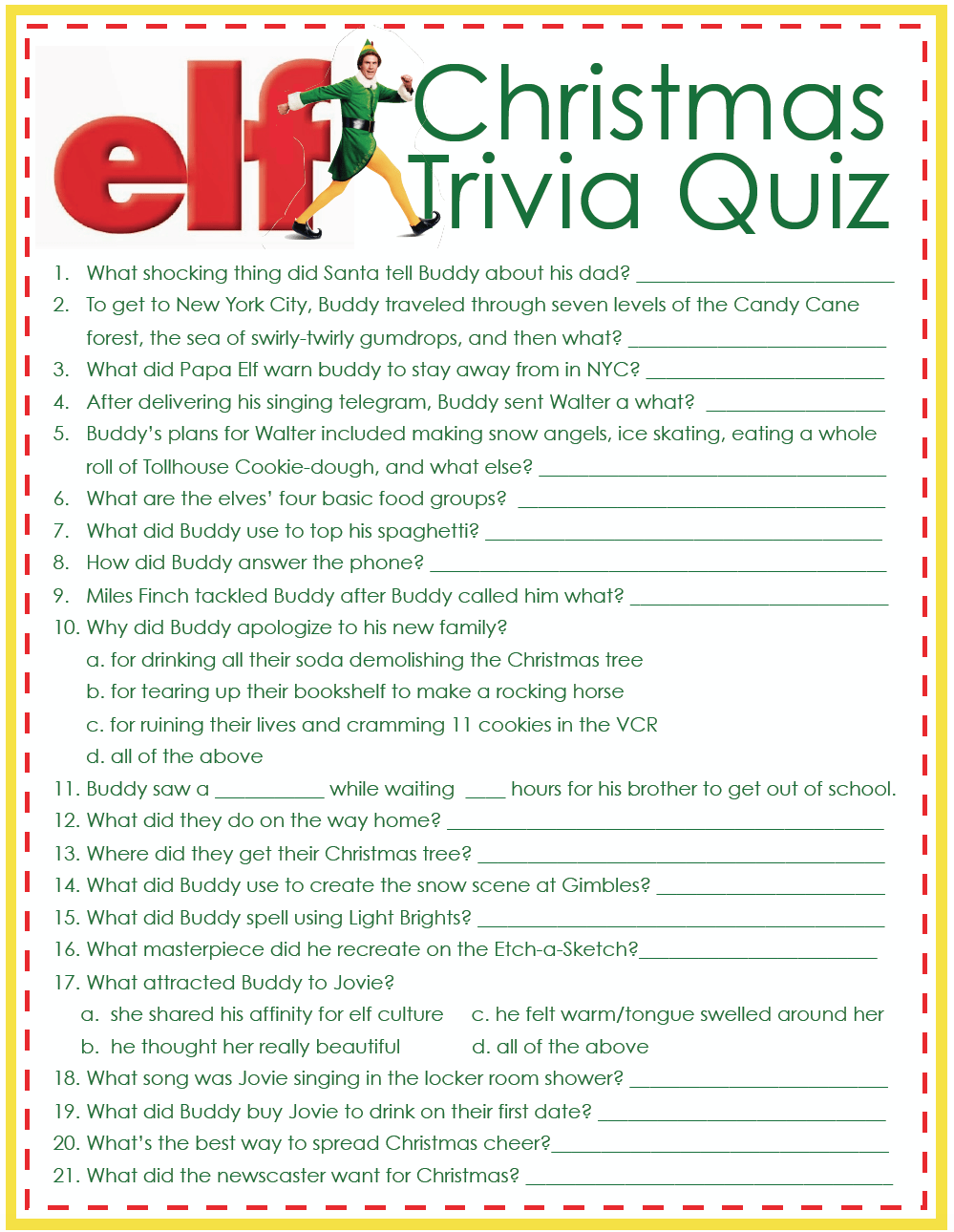Free Printable Christmas Trivia Game Question And Answers Merry Christmas Memes 2021