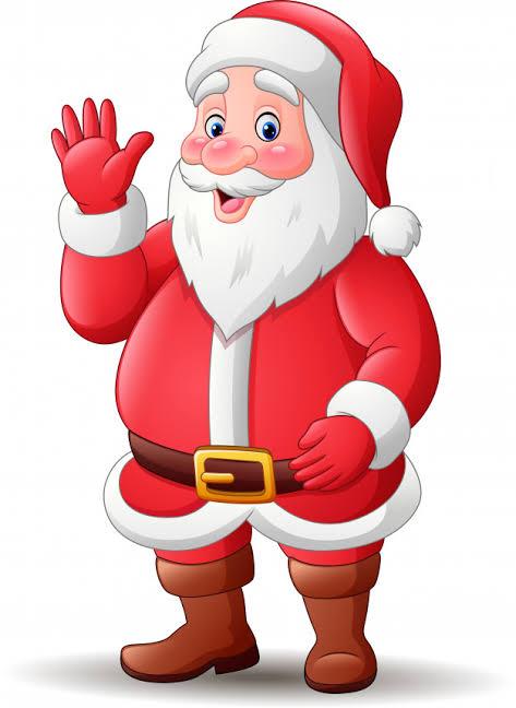 Santa Claus Cartoon Images
